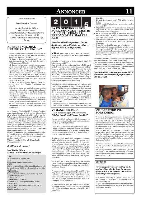 MedicinerOrganisationernes Kommunikationsorgan - MOK