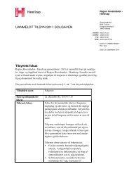 Læs tilsynsrapporten her - Solgaven i Farum