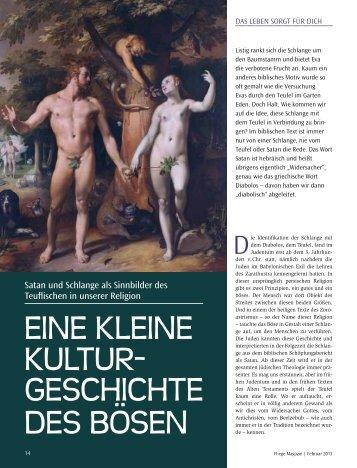 Kulturgeschichte des Teufels, in - Quelle-des-guten-Lebens