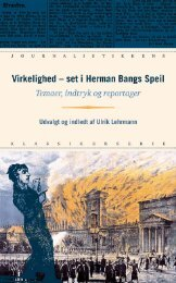 Virkelighed – set i Herman Bangs Speil