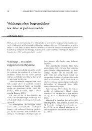 Annalise Rust: Voldtægtsofres begrundelser for ikke at politianmelde