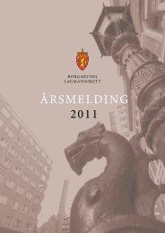 Årsmelding 2011 - Domstol.no