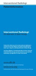 Patientinformation Interventionel Radiologi: www.cirse.org ...