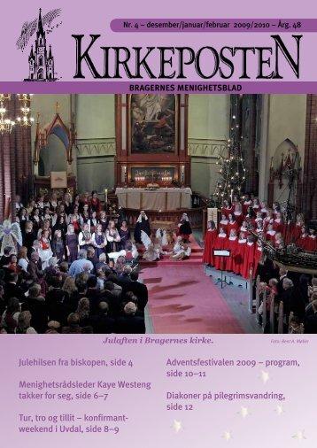 Nr. 4 desember-februar 2010 - Den norske kirke i Drammen