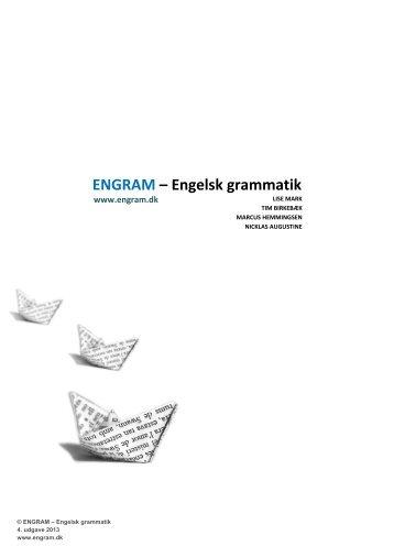 ENGRAM – Engelsk grammatik