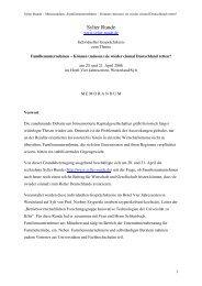 Corporate Citizenship - lohnt sich das Engagement ... - Sylter Runde