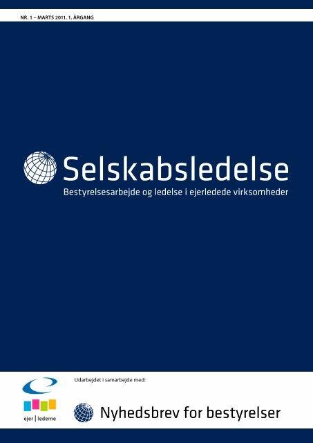 Selskabsledelse - Nyhedsbrev for Bestyrelser