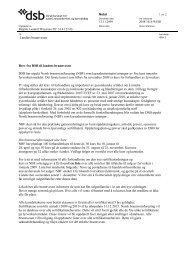 brev til alle landets brannvesen om ordningen