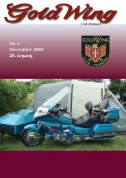 Region 1 - GoldWing Club Danmark