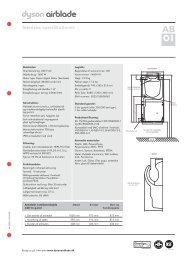 Tekniske specifikationer - L'EASY Erhverv