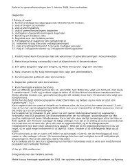 Referat fra generalforsamlingen den 3 - HK