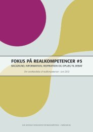 Realkompetence og karrierevejledning (pdf) - VIA University College