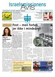 01/2010 - Israelsmissionen