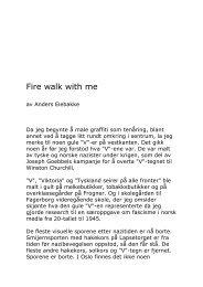 2000 Anders Eiebakke : Fire walk with me - Victor Lind