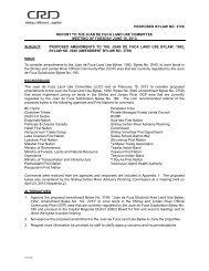 Proposed Bylaw No. 3759, Juan de Fuca Land Use Bylaw, 1992 ...