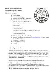 Referat af generalforsamling i Falcon BMX 2013, d. 7. februar