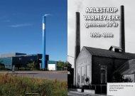AALESTRUP VARMEVÆRK gennem 50 år 1958 - Aalestrup Vand