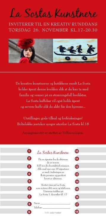 La Sostas Kunstnere - Eli Hovdenak