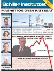 Magnettog over Kattegat, 13. september 2007 - Schiller Instituttet
