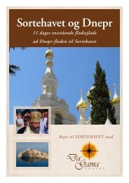 Sortehavet og Dnepr - DaGama Travel