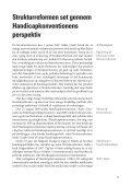 Nr. 5 Handicappolitikken under lup - Socialpolitisk Forening - Page 5