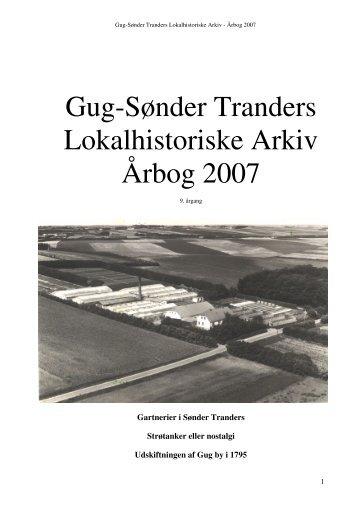 Gug-Sønder Tranders Lokalhistoriske Arkiv Årbog 2007