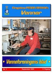 Nr. 3 September 2005 8. Årgang. - Peder Skrams Venner