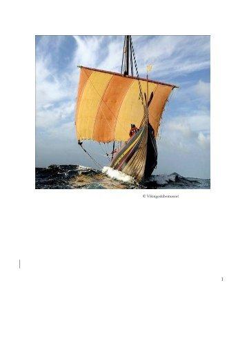 En hypotese for sejl - Vikingeskibsmuseet