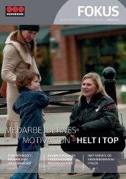MEDARBEJDERNES MOTIVATION - hElt i tOP - Securitas