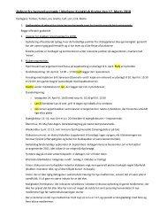 Referat fra bestyrelsesmøde i Mariager Kajakklub tirsdag den 17 ...