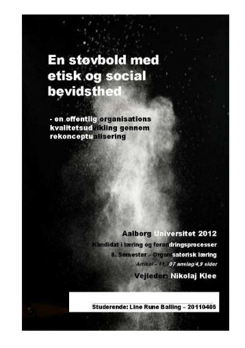 Artikel om kvalitetsudvikling gennem ... - linerune.dk