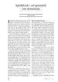 Spraknytt 2007 - Språkrådet - Page 6
