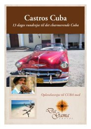 Castros Cuba - DaGama Travel