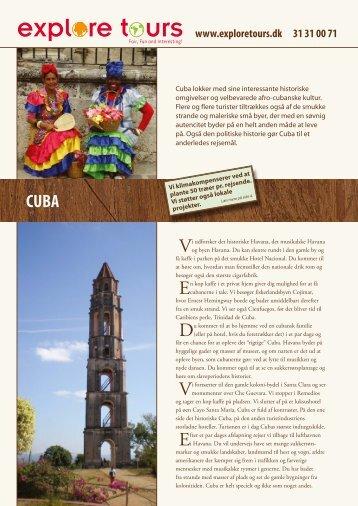 CUBA - Explore Tours