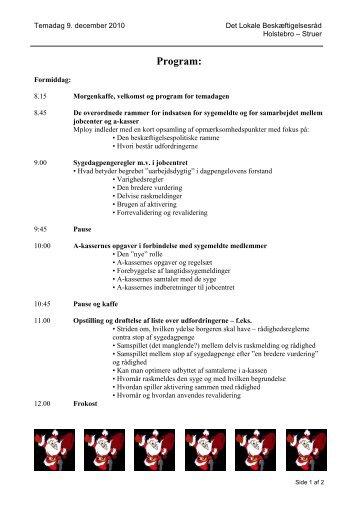 Program ut - Trivselogsundhed.nu