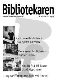 Flere søker bibliotekar - Bibliotekarforbundet