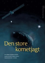 en komet. - Elbo