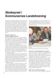 Skolesynet i Kommunernes Landsforening - Friskolebladet