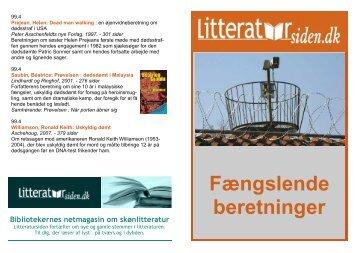 Fængslende beretninger - Litteratursiden