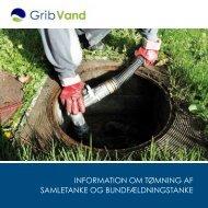 information om tømning af samletanke og ... - GribVand