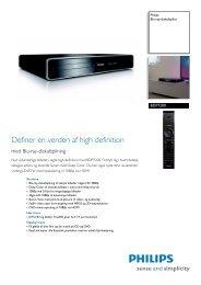 BDP7200/12 Philips Blu-ray-diskafspiller