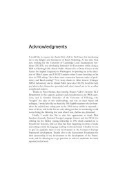 Chapters 1-4 The Development of a Common Framework ... - English