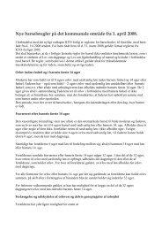 Orientering om barselsaftalen 2008