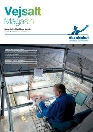 Vejsalt Magasin, udgave 2 - September 2012 - AkzoNobel