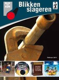 Blikkenslageren - Februar 2011 - Blik- og Rørarbejderforbundet