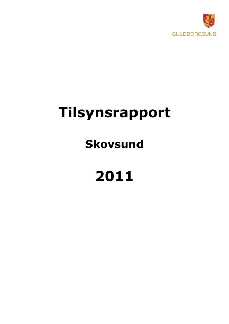 Tilsynsrapport 2011 - Guldborgsund Kommune