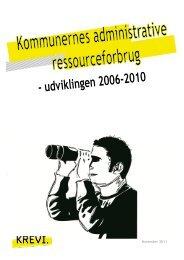 Kommunernes administrative ressourceforbrug - KREVI