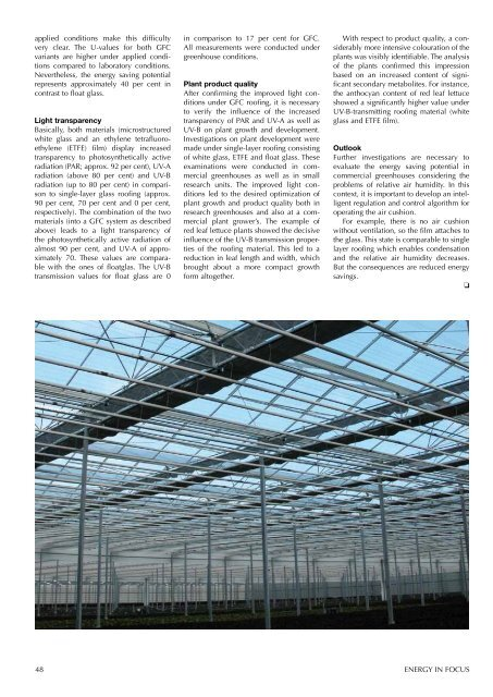 Article. Energy in fokus - from Kyoto to Copenhagen. - AgroTech