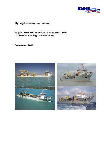 Miljøeffekter ved anvendelse af store fartøjer til ... - Naturstyrelsen