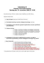 Indkaldelse til Ordinær Generalforsamling 2009 - Hellerup Kajakklub